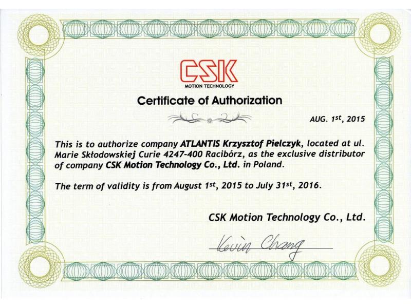 Certyfikat CSK